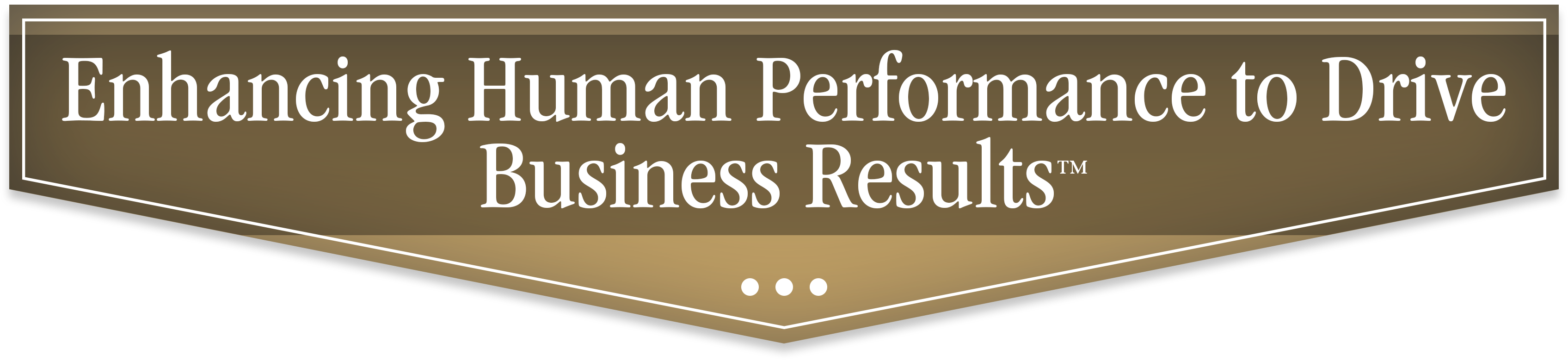 Enhancing Human Performance to Drive Business Results