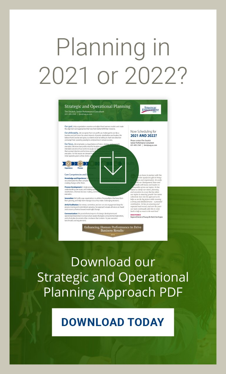 Nonprofit Strategic Planning Download